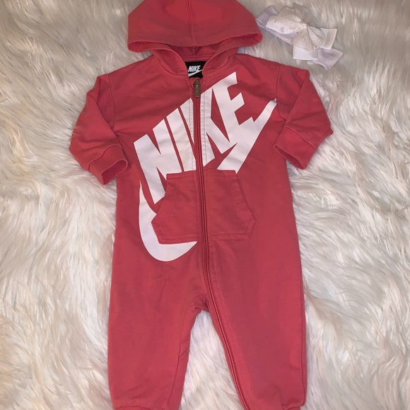 Nike Other - Nike French Terry Girls Coverall 9M